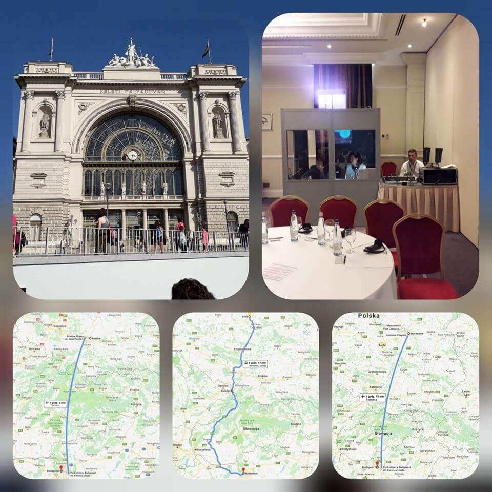 Obsługa konferencji w Budapeszcie